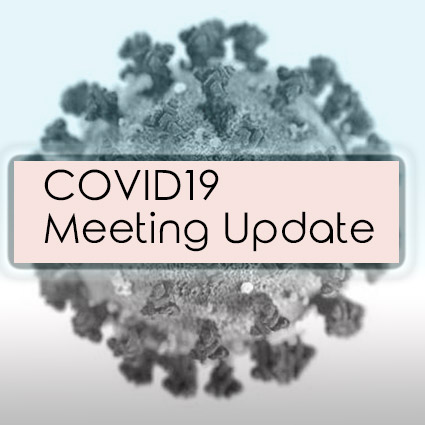 COVID19 – April Meeting Cancelled