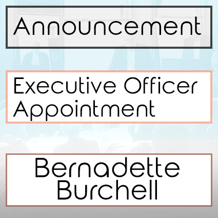 Bernadette Burchell Appointed