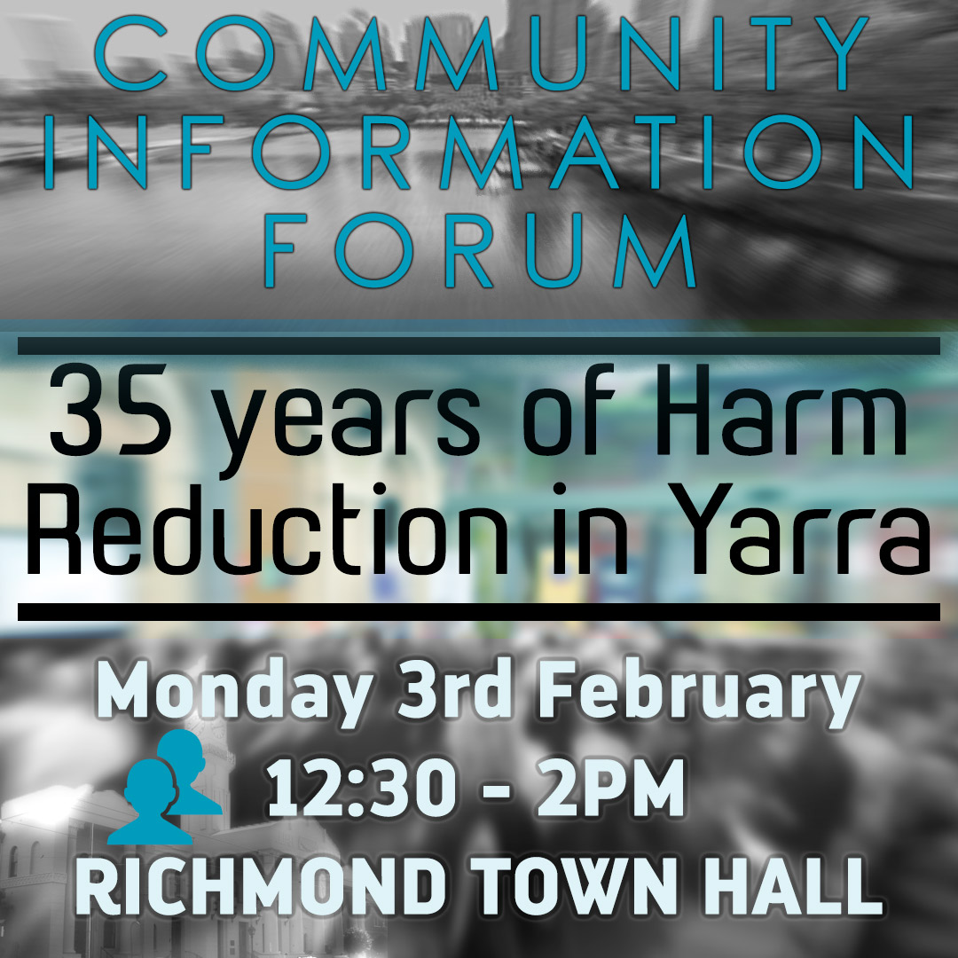 35 Years Of Harm Reduction In Yarra