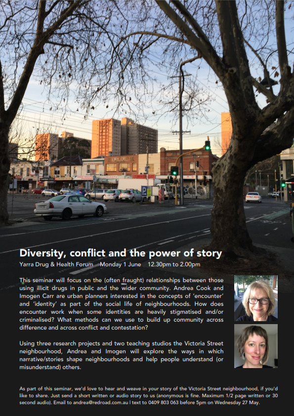 Diversity, Conflict And  The Power Of Story In A North Richmond Neighbourhood