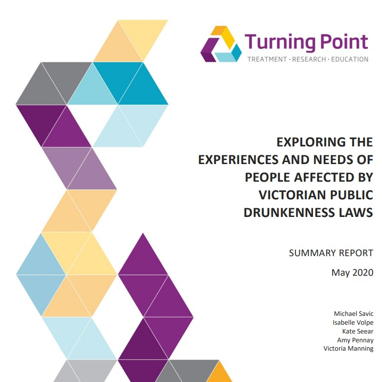 Turning Point Research -Lived Experience – Public Drunkenness
