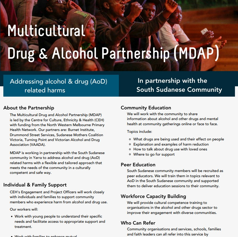 Multicultural Drug And Alcohol Partnership