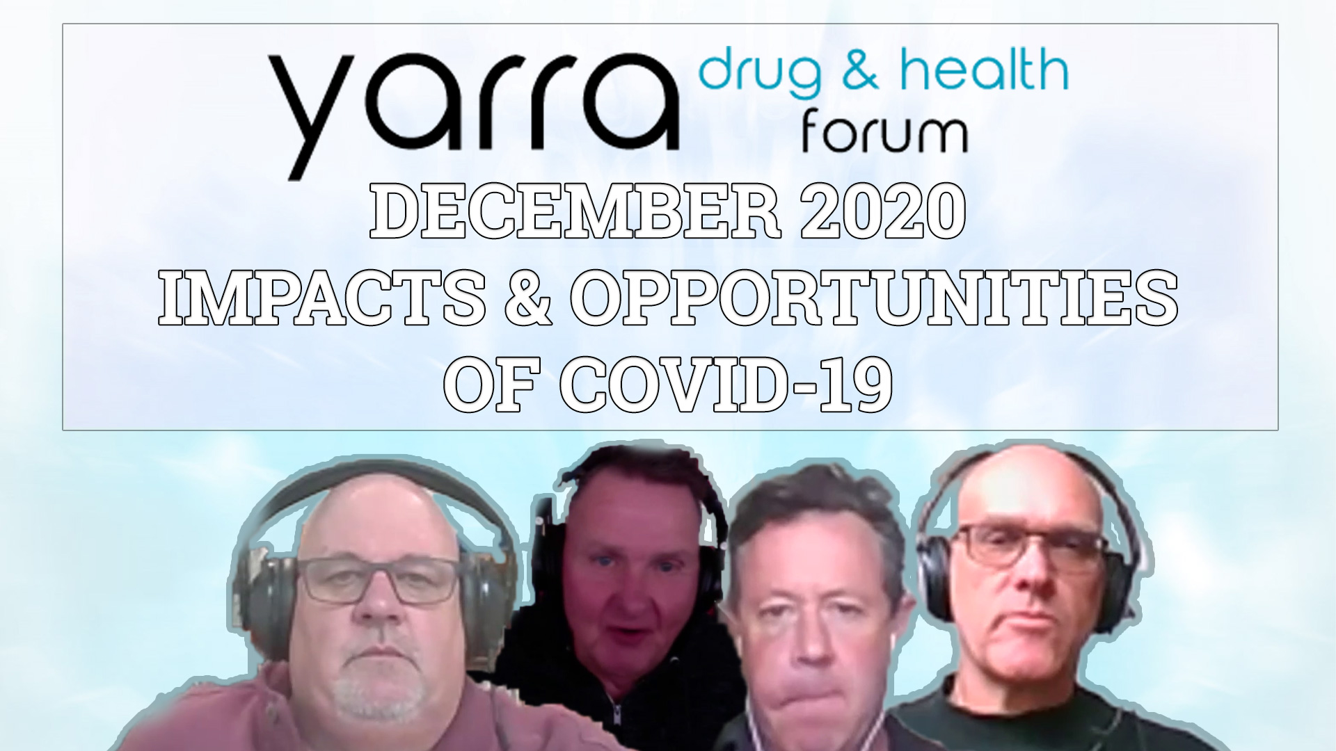 December 2020 Meeting – Impacts And Opportunities Of COVID-19