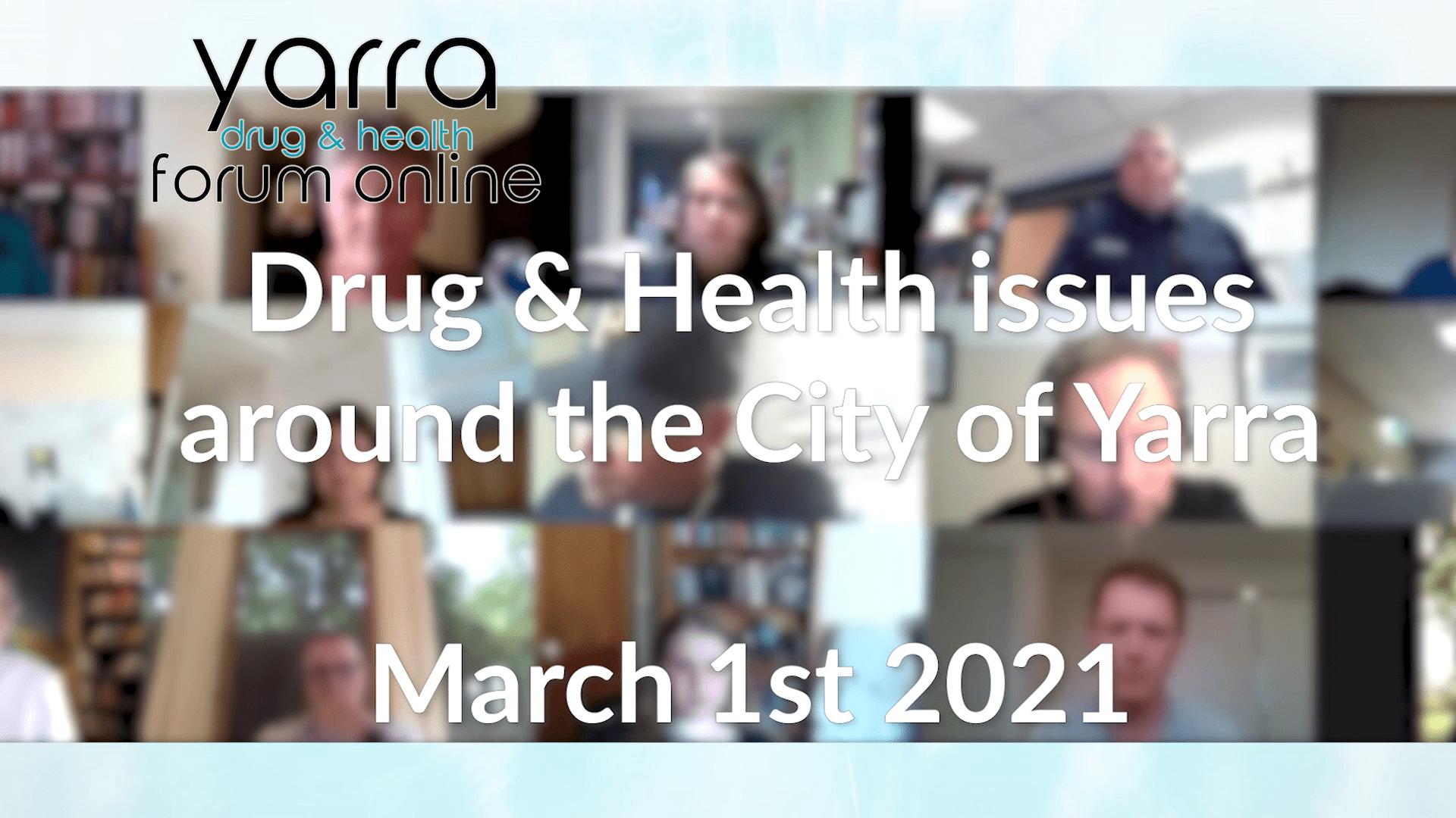 YDHF March Forum