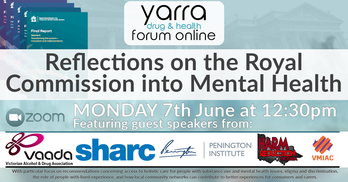 Reflections On The Royal Commission Into Mental Health